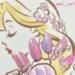 【ディズニープリスセスネイル】乙女チックな上品ラベンダーカラー♡可愛すぎるラプンツェルネイル8選