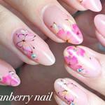 【鯨岡 百合香】春のネイルはピンクから始まる 春に気になる定番モチーフといえば