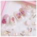 しずくネイルシールで作る春の桜・花柄ネイルデザイン4選