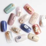 【Sweet Nail】Twinkle&FlowerでキラキラHandFoot