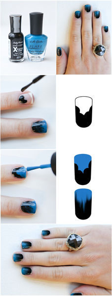 how to Get cute Ombre Nails | Beauty Tutorials (32690)
