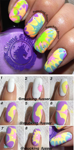 Nail Art Tutorials Step By Step For Beginners & Learners 2013/ 2014 | Fabulous Nail Art Designs (32704)