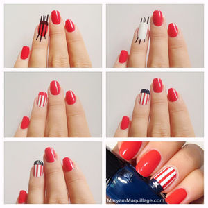 ! Maryam Maquillage !: Americana Nail Art for the Fourth! (32712)