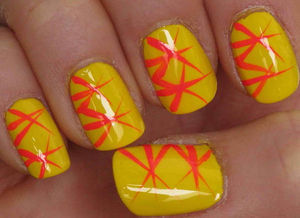 Cute and Simple Yellow and Orange Nail Ideas For Summer : Best Nail Art – Nail Art Designs Gallery (47991)
