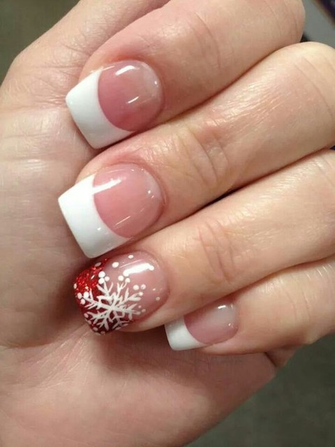 Winter nails | We Heart It (62972)