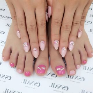 Satomin's Blog|New nail by 八鍬里美【さとみん】|CROOZ blog (63664)