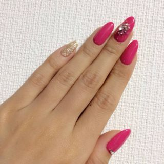 Satomin's Blog|New nail by 八鍬里美【さとみん】|CROOZ blog (63669)