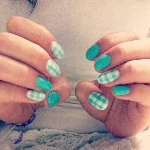 gel nail | We Heart It (63734)