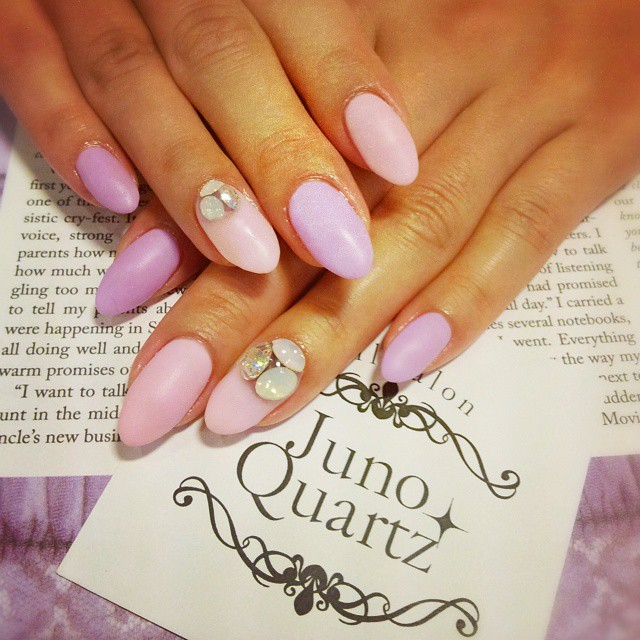 @junoquartz_shinsaibashi - パステルマットnail☆made by Kassy:)... - Enjoygram (64552)