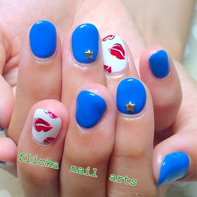 Instagram photo by @flickanail (flicka nail arts) | Iconosquare (66628)