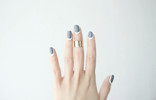 15 Most Amazing Minimalist Nail-Art Designs | We Heart It (66670)