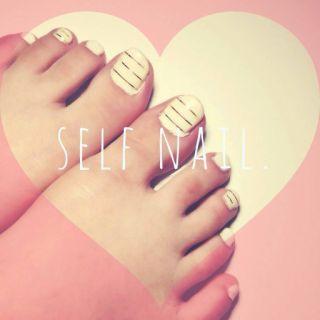 Suzutyasu BLoG (16) Self,foot nail  by すずちゃす CROOZ blog (67047)