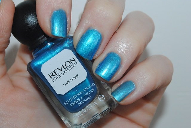 Revlon Parfumerie Nail Polish Fresh Collection Swatches - Really Ree (68979)