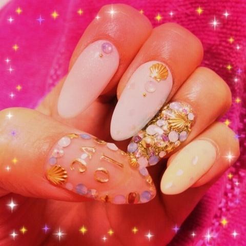 shell nail...♡|向山志穂オフィシャルブログ「Happy Smile」Powered by Ameba (70986)