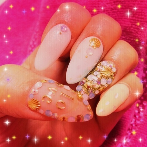 shell nail...♡|向山志穂オフィシャルブログ「Happy Smile」Powered by Ameba (70986)