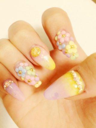 さぁやBLOG*°|NEWねいる️ キラキラお花 by さぁや|CROOZ blog (76218)