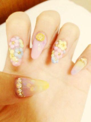さぁやBLOG*°|NEWねいる️ キラキラお花 by さぁや|CROOZ blog (76219)