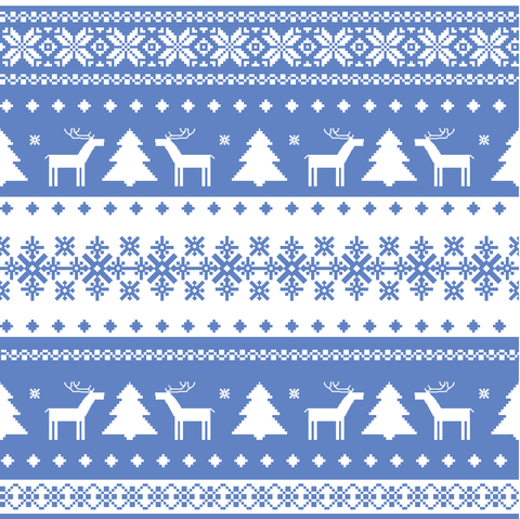 Christmas sweater style Nordic print  | We Heart It (84016)