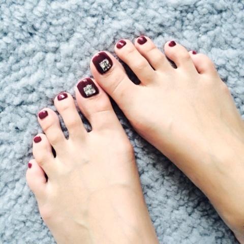Foot nail|渡辺知夏子オフィシャルブログ「Chikako HOTEL」Powered by Ameba (84910)