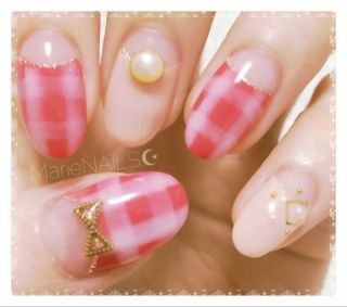 河西美希のポン酢ぶろーぐ。|   New Nail    by みきぽんぽこ(´ω`)|CROOZ blog (85086)
