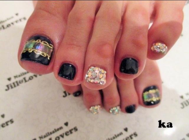 #NY_ size|  NAIL!!!  handfoot..Burberry by ねもやよ|CROOZ blog (91984)