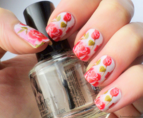 66 Rose Nail Art Designs photo Callina Marie's photos - Buzznet (93770)