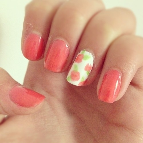 66 Rose Nail Art Designs photo Callina Marie's photos - Buzznet (93782)
