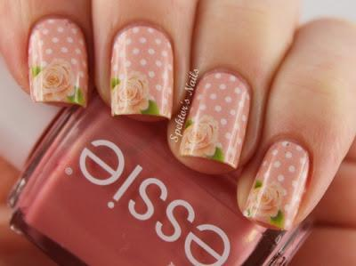 Rose Nails Idea - Paperblog (93784)