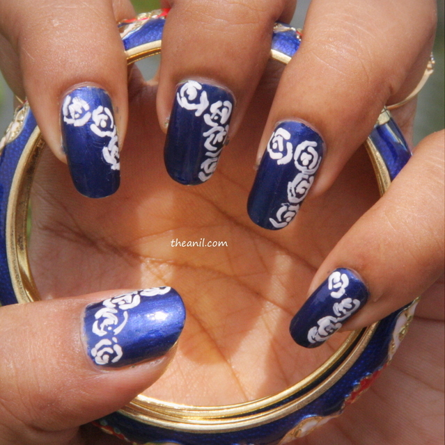 Nail Art » Tag » rose nail art (93786)