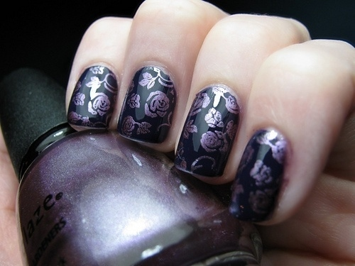 66 Rose Nail Art Designs photo Callina Marie's photos - Buzznet (93788)