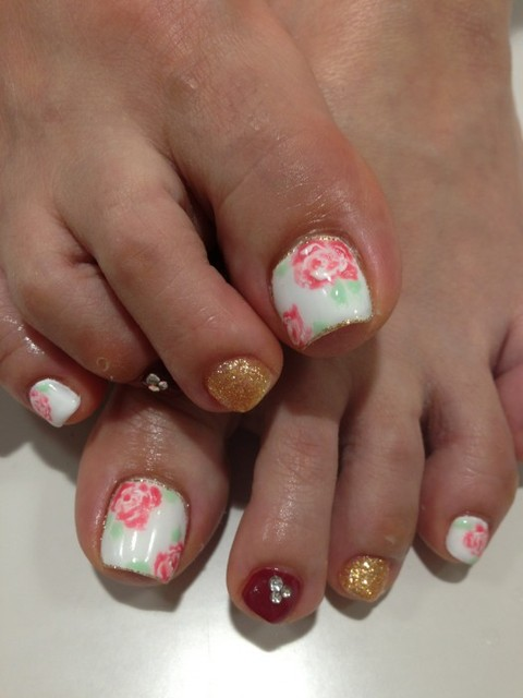 Allure Nail Catalog  » Blog Archive   » ローズフット (95242)