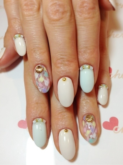 cheryl summer nail|小林真由オフィシャルブログ「mayu's blog」powered by Ameba (95924)