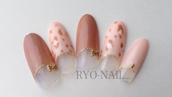 ギャラリー|名古屋・栄の爪専門店 ネイルサロン RYO-NAIL  » レオパードネイル (102875)