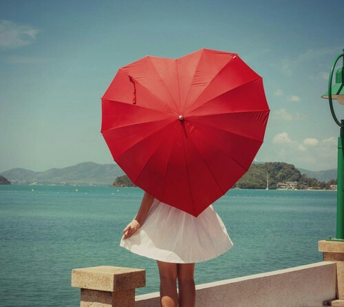 Heart umbrella | We Heart It (104120)