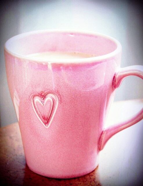 pink coffee mug | via Tumblr | We Heart It (105404)