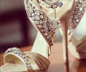 Jimmy Choo High Heels and Chanel Necklace | We Heart It (105531)