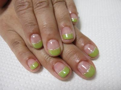 北浦和ネイルサロン wicket nail | お抹茶カラーのネイル (106528)