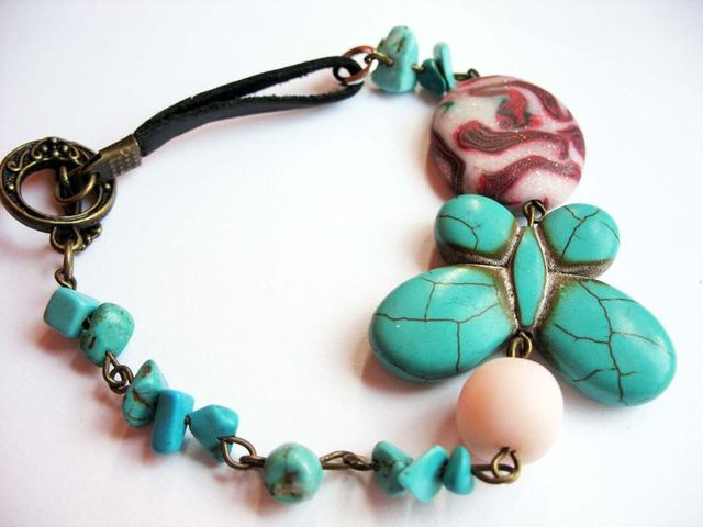 turcoise butterfly | bracelets | Pinterest (107248)