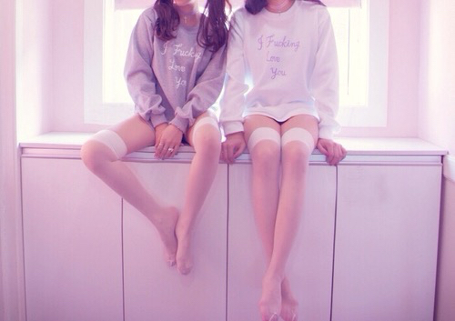 twins👭💜 | We Heart It (107849)