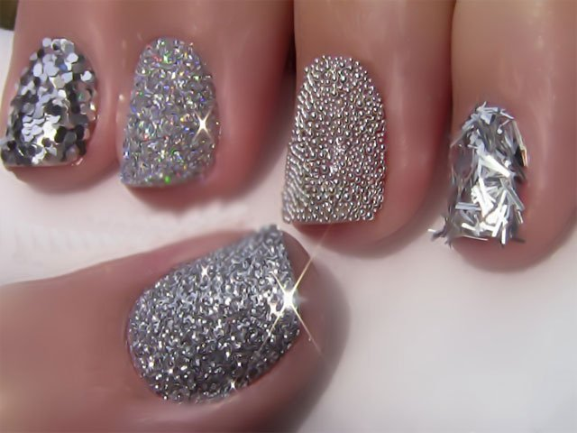 39 Glitter Nail Polish Ideas - Fashion Diva Design (117902)