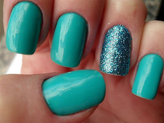 39 Glitter Nail Polish Ideas - Fashion Diva Design (117905)