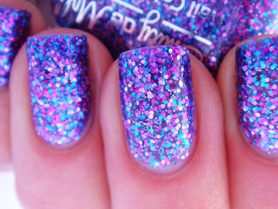 39 Glitter Nail Polish Ideas - Fashion Diva Design (117906)