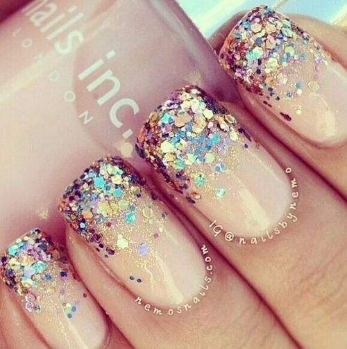 Glitter Nails Pictures, Photos, and Images for Facebook, Tumblr, Pinterest, and Twitter (118097)