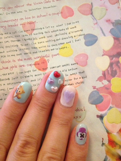 amo nail | We Heart It (123397)