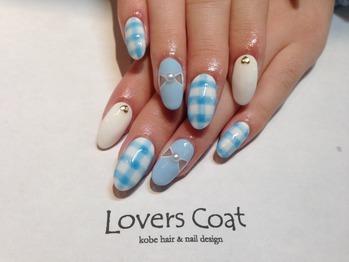 Lovers Coat paragel nail(ラバーズコートパラジェルネイル) (125462)
