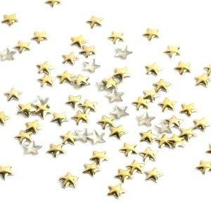 Amazon.co.jp: Yesurprise 星 ネイルスタッズ/ネイルアート デザイン/シンプル スタッズ ネイルパーツ/ゴルード アクセサリー 4MM 1000粒入り: ヘルス&ビューティー (125885)