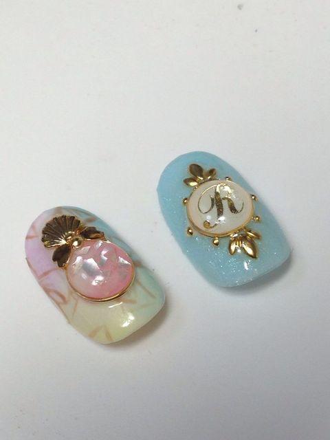 ブローチパーツネイル | シンデレラ☆ネイル | Pinterest (126440)