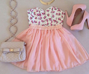 Pastel pink outfit | We Heart It (131255)