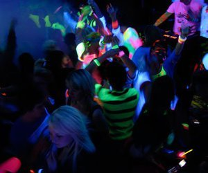 Glow Party Blog | Party Guides and Ideas - A Pumping Night Club Blacklight Party | via Tumblr | We Heart It (134848)