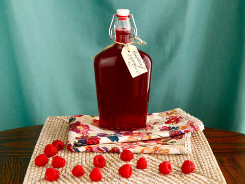 Homemade Raspberry Syrup - Simple Recipe Step-by-Step | We Heart It (135751)